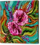 Flora Latino Canvas Print