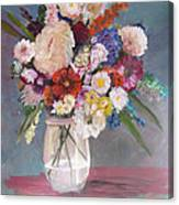 Floral # 2 Canvas Print