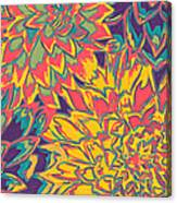 Floral Abstraction 22 Canvas Print