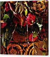 Floral Antique Canvas Print