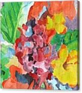Floral Dream 3 Canvas Print