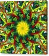 Floral Fantasy 071311 Canvas Print
