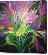 Floral Fantasy 1 Canvas Print
