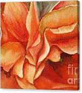 Floral Flash Canvas Print