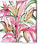 Floral Fourteen Canvas Print