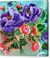Floral Frenzy Canvas Print
