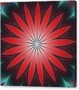 Floral Geometric 102311a Canvas Print