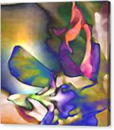Floral Intimacy Canvas Print