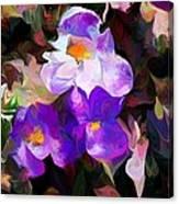 Floral Jam Canvas Print