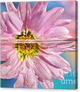 Floral 'n' Water Art 5 Canvas Print