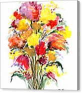 Floral Seven Canvas Print