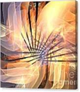 Floral Supernova Canvas Print
