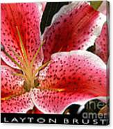 Floral Textures I Canvas Print