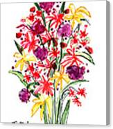 Floral Three Canvas Print