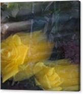 Florals In Motion 7 Canvas Print