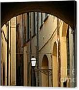Florence Alley  Canvas Print