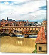 Florence Bridges II Canvas Print