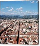 Florence From The Duomo Canvas Print