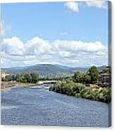 Florence Italy Arno River Canvas Print