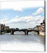 Florence Italy Pano Canvas Print