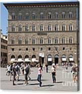 Florence Piazza Della Signoria Canvas Print