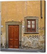 Florence Streetscape Canvas Print