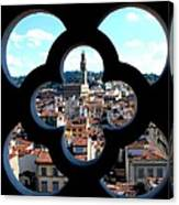 Florence Through A Unique Lens Canvas Print