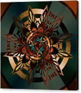 Florentine Colonnade Star Canvas Print
