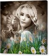 Flower Arround Me Canvas Print