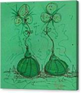 Flower Bells Canvas Print