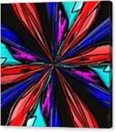 Flower Daze Nights Canvas Print