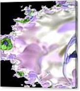 Flower Effect Canvas Print