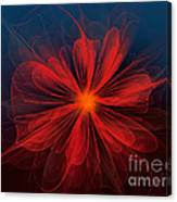 Flower Of Love Canvas Print