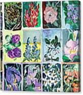 Flowers Flowers Flowers Canvas Print