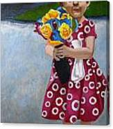 Flowers For Mum Canvas Print