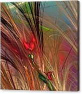 Flowers In The Grass Canvas Print
