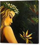 Flowers Of Paradise Canvas Print