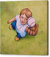 Fly Ball Canvas Print