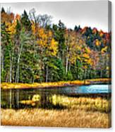 Fly Pond On Rondaxe Road II Canvas Print