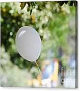 Flying Balloon Canvas Print
