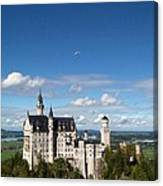 Flying High Over Neuschwanstein Canvas Print