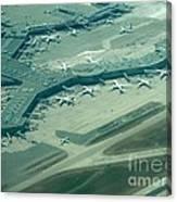 Van Interntaional Airport Canvas Print
