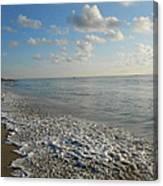 Foamy Seas Canvas Print