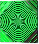 Focus On Green Canvas Print