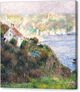 Fog On Guernsey Canvas Print