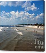 Folly Beach Charleston South Carolina Canvas Print