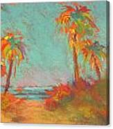 Folly Beach Surfs Up Canvas Print