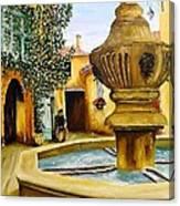 Fontaine De Venasque Canvas Print