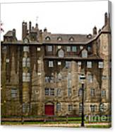 Fonthill Castle In The Rain  Canvas Print