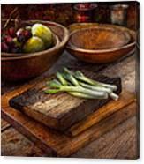 Food - Vegetable - Garden Variety Canvas Print